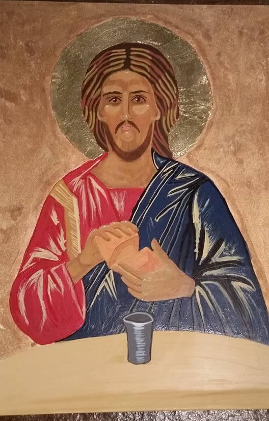 Jesus - supper at Emmaus 4.17.2016