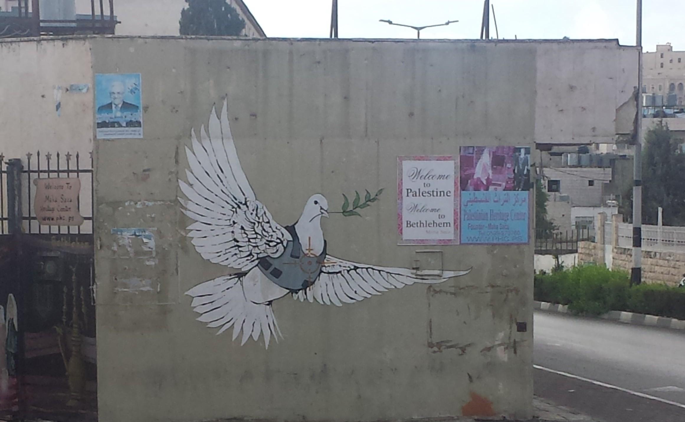 PEACE - Palestinian Peace Dove